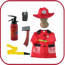 Hot sales kids fireman costume fireman sam wholesale costume PGKC-2900