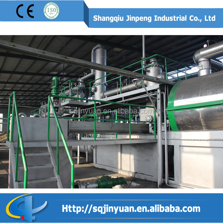 Used Tire Continuous Recycling Machine Waste Power Generation Project Garbage Power Plants