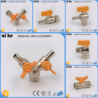 high quality 1/4''- 1/2'' gas pipeline ball valves natural gas regulator solenoid valve