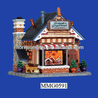 New lemax christmas container house