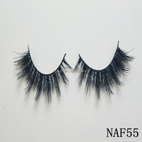 New Design Best Quality 3D Mink Lashes real Mink Eyelashes factory
