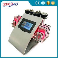 Portable 650nm Lazer Lipo ultrasound strawberry laserlipo slimming machine for sale
