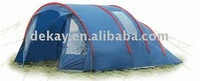 outdoor camping tent with vestibule