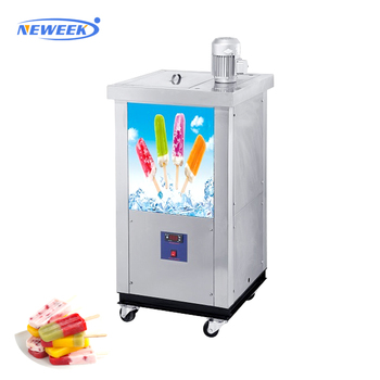 NEWEEK 2 molds ice lolly popsicle moulding machine for sale