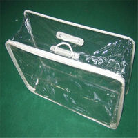 high quality custom clear pillow packaging bag