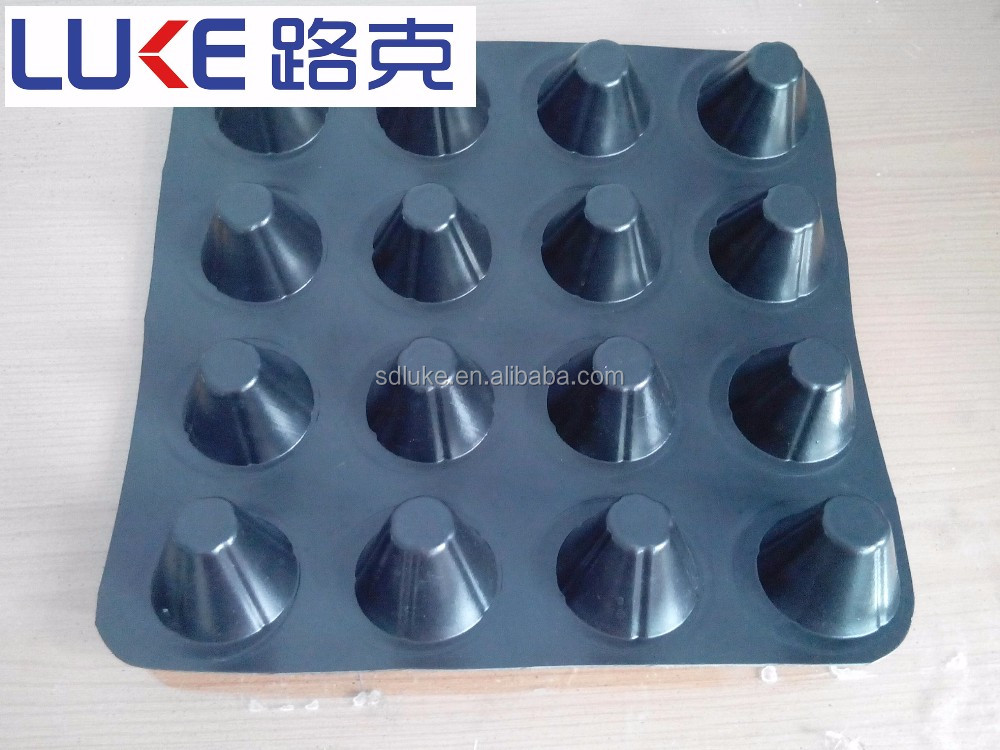 HDPE plastic dimple drain board, dimple drainage sheet