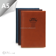 A5 leather journal writing notebook cover supplier