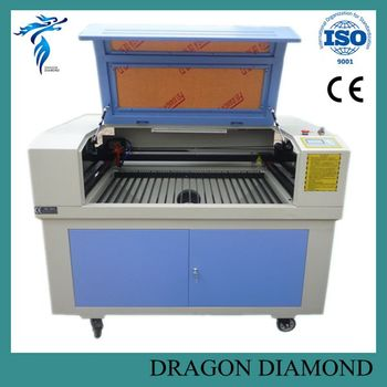 LZ-6090 co2 laser engraver from factory co2 laser engraving cutting machine spare parts