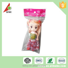 Promotiona china cheap price child toy lovely mini free sample dolls