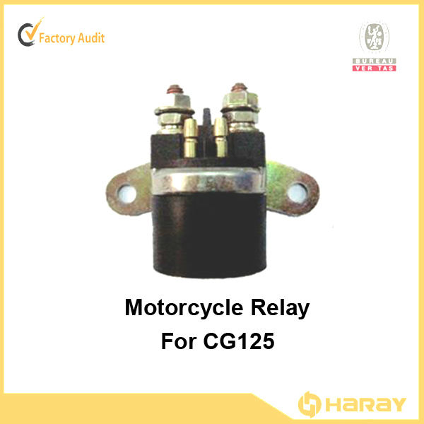 Chinese Motorcycle starter relay for CG125 Motorcycle engine