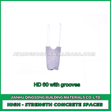 Factory direct sales high strength HD 60 oncrete spacers with grooves with wire