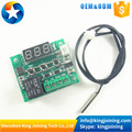 DC 12V W1209 heat cool temp thermostat temperature control switch temperature controller NTC Sensor Waterproof Probe wire