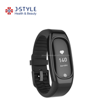 2017 J-Style bluetooth wristband continuous PPG heart rate monitor