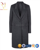 100% Mongolian Cashmere Coat Lady Cashmere Winter Coat