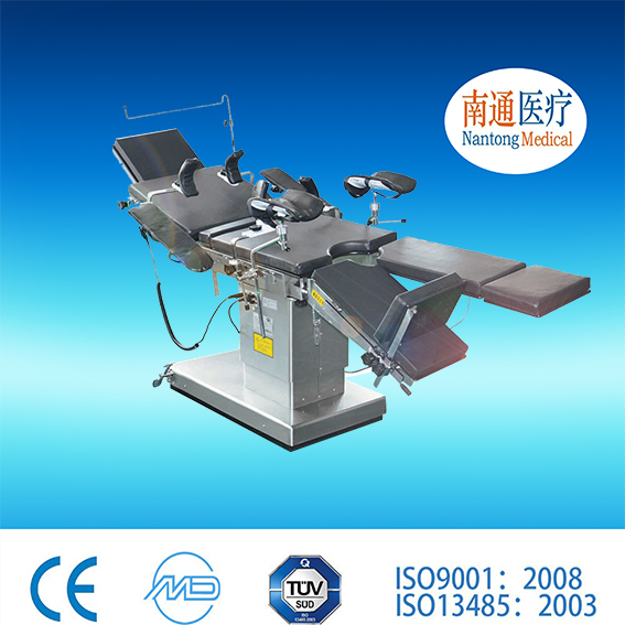 Famous brand Nantong Medical lifts up and down electrically Operating table With the Best Quality