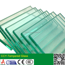 3~25mm custom tempered glass cut to size manufacturer