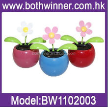 SQ090 new eco-friendly promotional solar swinging flowers