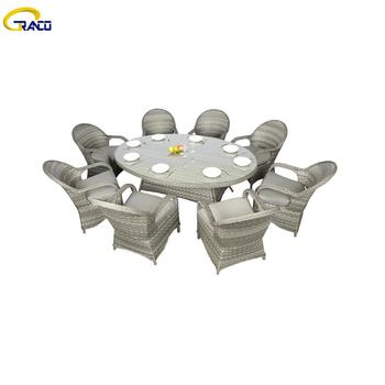 Wholesale patio rattan wicker table and chair sets