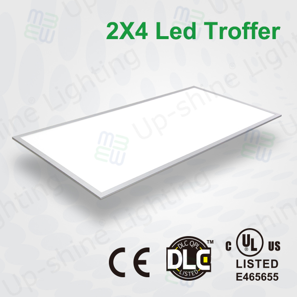 Shenzhen factory UL cUL certificated 4000K recessed high lumen 60W top quality CRI>80 2x4 led ceiling panel lighting for office