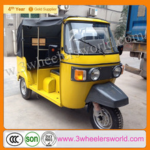 China Supplier Newest Design Tricycle Passenger Motorcycle / Electric 3-Wheel Scooter /Closed Cabin Passenger Tricycle