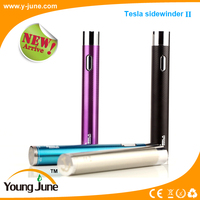 Hot selling!!! Tesla sidewinder 2 original product sidewinder e-cig mod with huge capacity 2000 mah battery from YoungJune