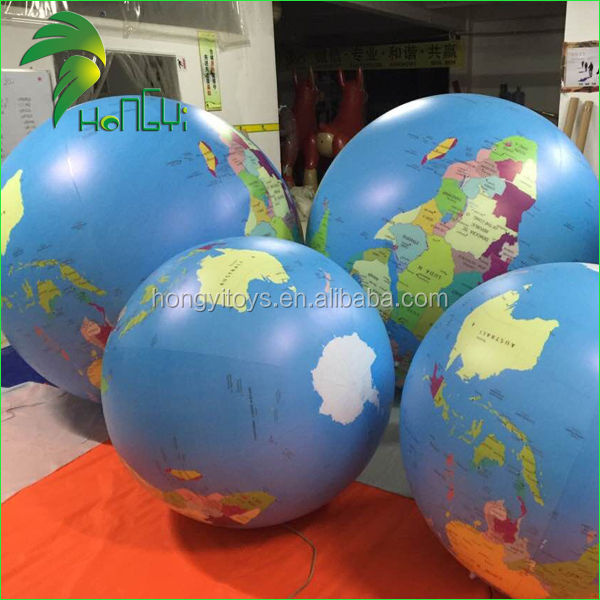 Inflatable Earth For Event Decoration , Inflatable Earth Balloon