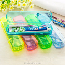 Yiwu manufacturers high quality plastic portable travel toothbrush holder box