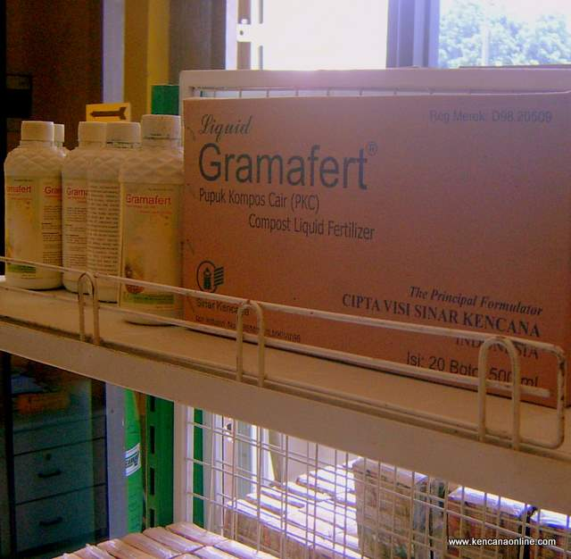 Gramafert - liquid compost (20 bottle)