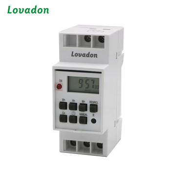 Weekly Programmable Periodic Timer Electrical Industry Digital LCD Timer