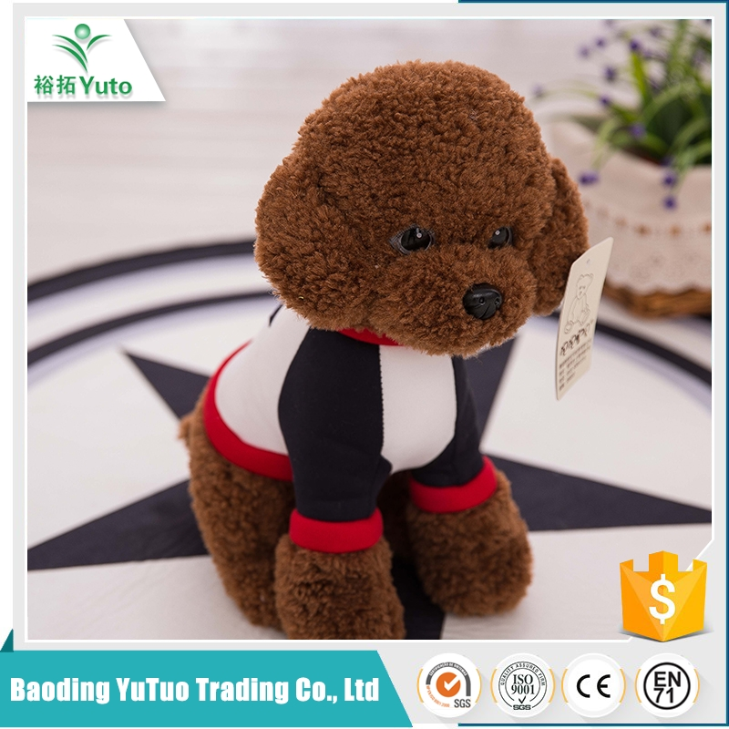 china alibaba factory luxury custom big eyes plush dog