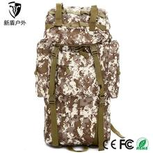 Custom Old Fashion Canvas Drawstring Military Swiss Army Backpack