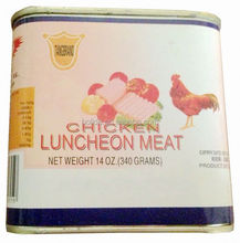 canned chicken luncheon meat OEM