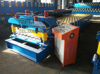 trapezoidal ibr roofing tile roll making machine