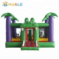 Low MOQ oem air bouncer inflatable trampoline combo