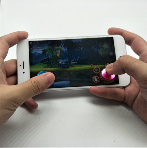 2017 Mini Game Joystick Mobile Phone Physical Game Joystick Fling Touch Screen Rocker For iPhone/Pad/Samsung SmartPhone