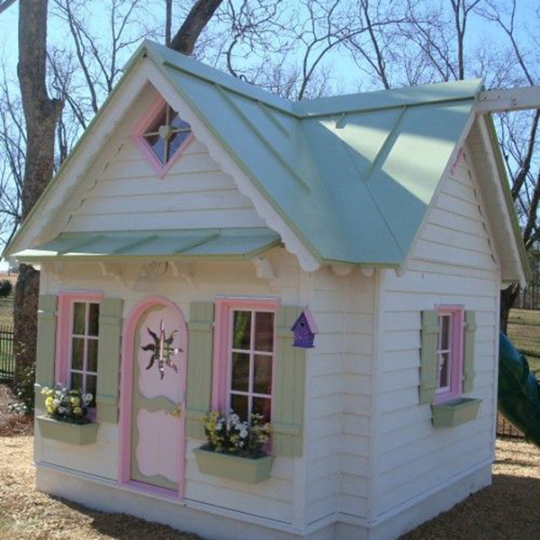 Good design wooden play house indoor playhouse plans