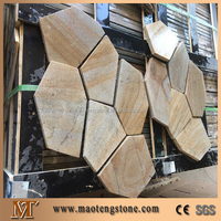Natural Slate Paving Outdoor Slate Stepping Stones
