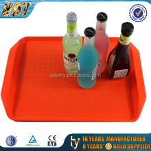 wholesale rectangular plastic beverage tray
