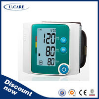 2014 popular sale WHO and IHB indicator Electric Digital Blood Pressure Monitor