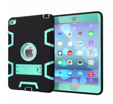 For iPad mini 2 Retina Crocodile New Arrival Hybrid Rugged Case Armor Kickstand High Impact Case