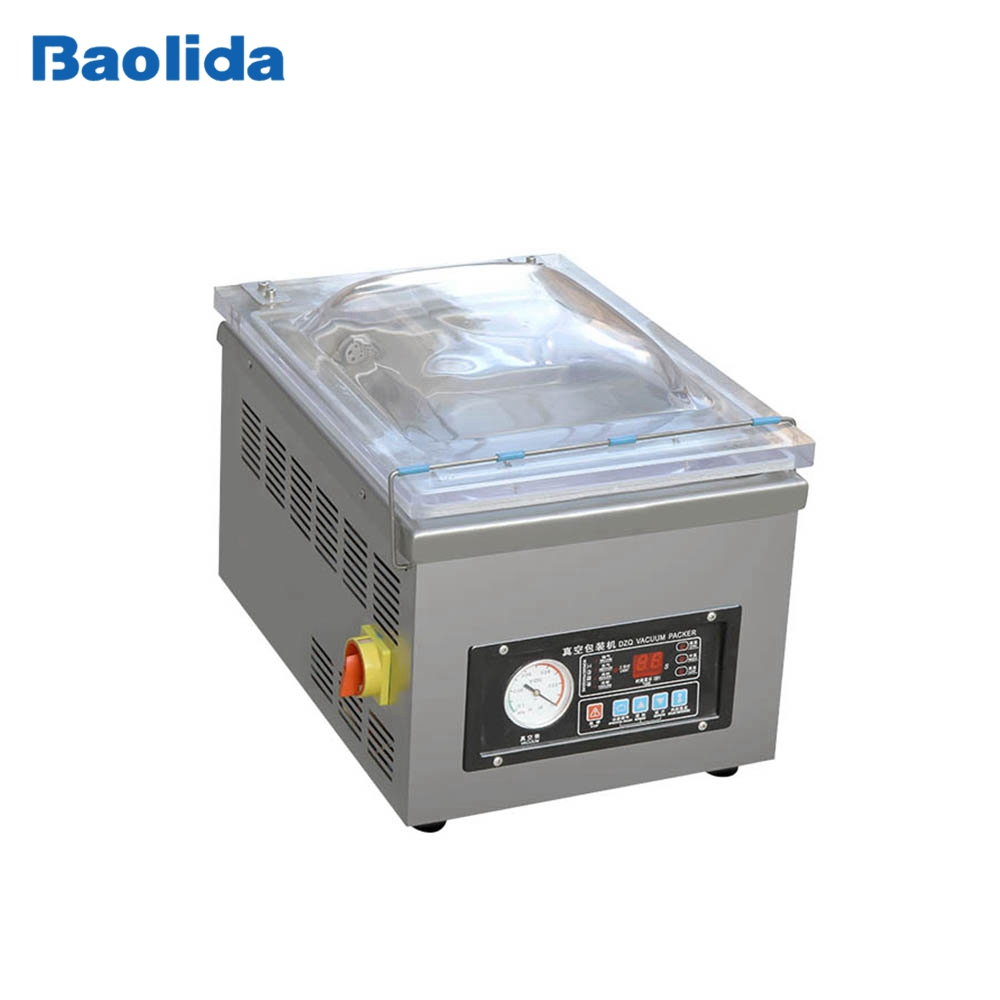 DZ-260PD Stainless steel automatic single chamber table top vacuum packing machine