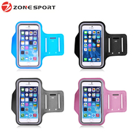 Hign quality running sport reflective armband case for phone holder