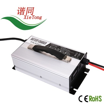 1500W~1800W Batteries Charger with OLED displays golf cart charger with CE&ROHS