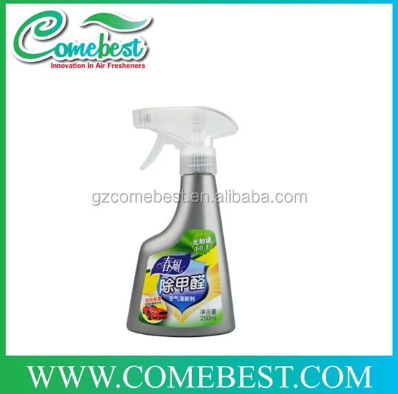 OEM Eco-friendly bathroom spray air freshener 250ml