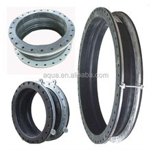 large diameter stub end flexible single sphere rubber expansion joint reinforced bellows