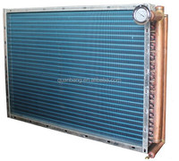 hydrophilic AL finned expanded tube heat exchanger condenser