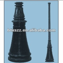 Euro Style garden outdoor cast iron lamp pole