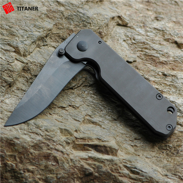 Best gift titanium customized pocket knives small knife survival knives for sale