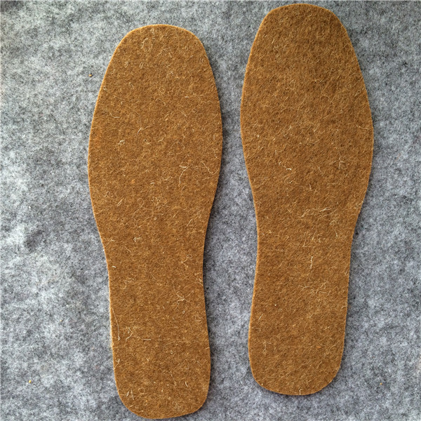 100% wool felt slippers soles/insoles