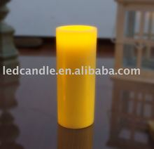 plastic LED candle light solar candle light